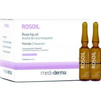 ROSOIL Rose hip oil – Масло шиповника регенерирующее в ампулах, 6 шт. по 3 мл